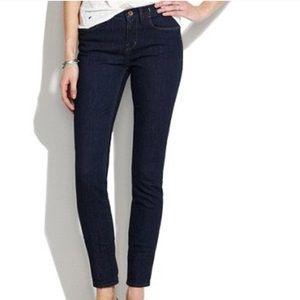 Madewell skinny skinny 28 x 32 dark wash Jeans